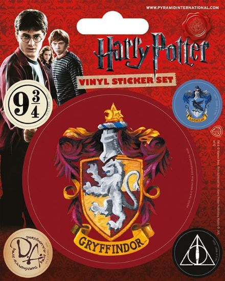 Harry Potter Gryffindor Vinyl Stickers